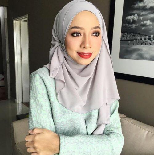 Nadya Syahera Pelakon Bertudun
