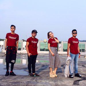 Sakura Band Polaroid Tshirt