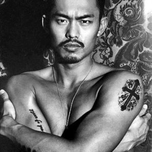 Tattoo Lin Dan Super Dan Badminton Player