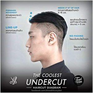 The Coolest Undercut Hair Style