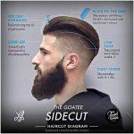 The Goatee Sidecut Hair Style
