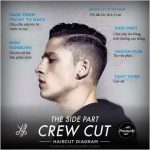 The Side Part Crew Cut Hair Style