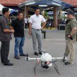 Dymm Sultan Kelantan Melihat Teknologi Dron