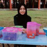 Gambar Gerai Siti Hajjar Ahmad Nasi Lemak Anak Dara Viral