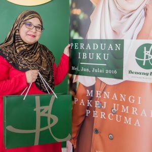 Pengasas Syarikat Benang Hijau Sdn. Bhd Fadzilah Mamat