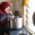 Siti Hajjar Memasak Nasi Lemak
