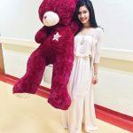 Afifah Nasir Manja Dengan Bear