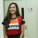 Azira Shafinaz Dengan Baju Repsol
