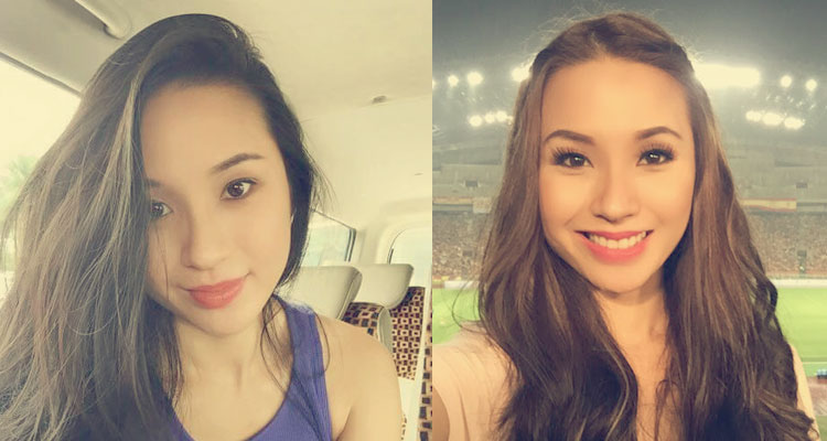 Biodata Jasmine Suraya Chin Hos Bola Sepak Paling Cun