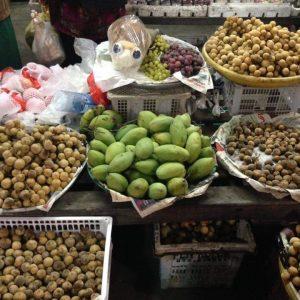 Buah Buahan Tempatan Dan Thailand Bukit Bunga Jeli