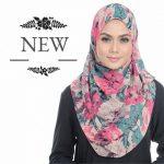 Contoh Hijab Benang Hijau