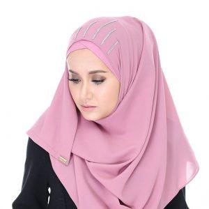 Eyqa Dengan Model Tudung Sugarscaft