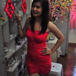 Gambar Adeline Tsen Pakai Skirt Pendek Sambut CNY