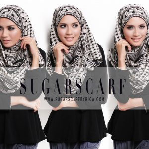 Gambar Amirah Sulaiman Tudung Sugarscaft Shawlbyvsnow