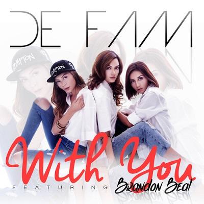 Gambar De Fam Cover Lagu With You Feat Brandon Beal