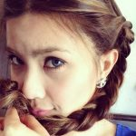 Gambar Mata Pelakon Adeline Tsen