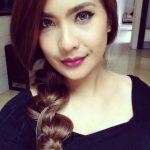 Gambar Wajah Cantik Adeline Tsen