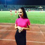 Jasmine Suraya Chin Host Pengacara Bola