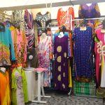 batik di pasar payang