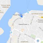 Maps Pasar Payang Terengganu