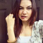 Mimik Muka Nadia Brain Pelakon Cantik Drama Tv