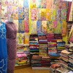 baju batik di pasar payang
