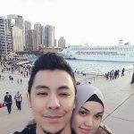 Pasangan Bahagia Shamsul Yusof Dan Puteri Sarah Liyana