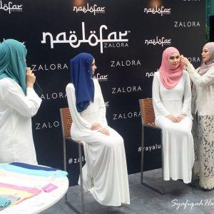 Pengayaan Tudung Naelofar For ZALORA