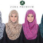 Tudung Zara Premium Benang Hijau
