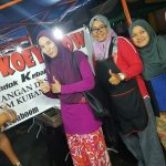Nisdawati Nazaruddin Makan Char Kuey Teow Pondok Kebaboom Kelantan