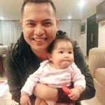Gambar Ippo Hafiz Dukung Baby