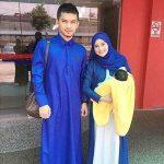 Gambar Suami Isteri Aeril Zafrel Dan Wawa Zainal Bersama Anak Kedua