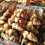 Makanan Eksostik Siput Babi