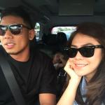 Nabil Ahmad Dan Isteri Dalam Kereta