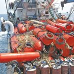 Proses Meabuh Payao Di Laut