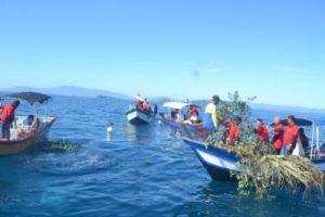 Proses Membina Unjam Oleh Nelayan Tempatan