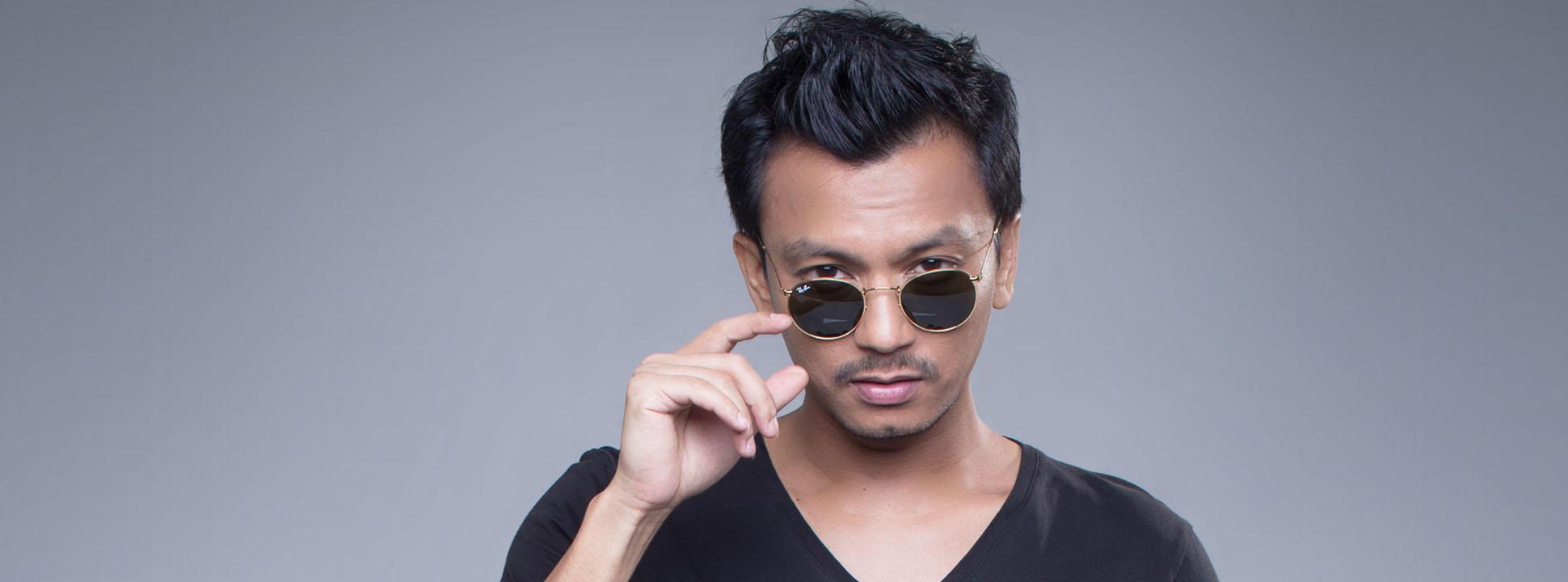 Wajah Penyanyi Faizal Tahir Malaysia