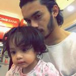 Wajah Terkini Anak Pasangan Aeril Zafrel Dan Wawa Zainal