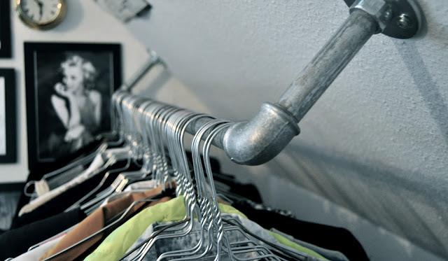 DIY Rak Susun Baju