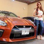 GTR35 Dan Lamborghini Milik Lana Rose