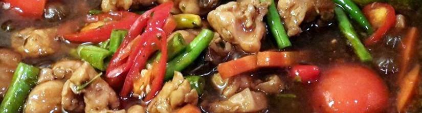 Ayam Paprik Versi Thai
