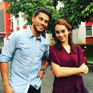 Azrel Ismail Tania Hudson Drama Cucu Tauke Beras