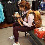 Gaya Elly Mazlein Travel Dengan Baby