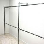Hanger Menggunakan Paip Besi Simple DIY