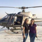 Lana Dan Ibunya, Helicopter Milik Lana Rose
