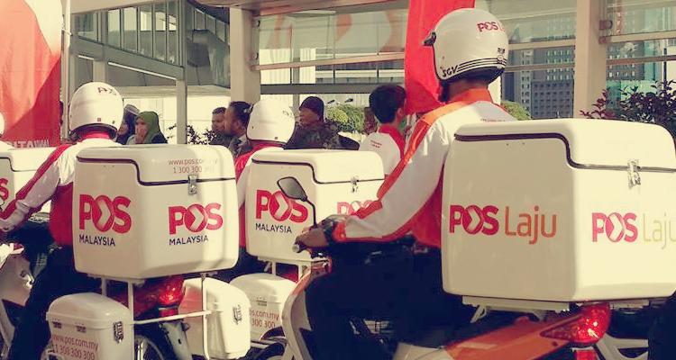 Motosikal Pos Laju Malaysia