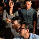 Nicholas Saputra Sewaktu Penggambaran Filem Interchange