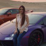 Purple Lamborghini Dan Nissan Skyline R35 Lana Rose