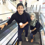 Shukri Yahaya Dan Pasangan, Tya Adnan