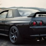 Skyline R32 Stock Spoiler, Tail Lamp